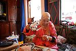 Marrakech, Maroc. 21 Decembre 2007..Aid El Kebir est une des fetes les plus importantes de l'Islam. ..Marrakesh, Morocco. December 21st 2007..Eid Al-Adha is one of the most important celebrations in the Islam traditions.