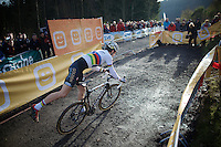 U23 World Champion Wout Van Aert (BEL/Vastgoedservice-Golden Palace)<br /> <br /> Superprestige Francorchamps 2014