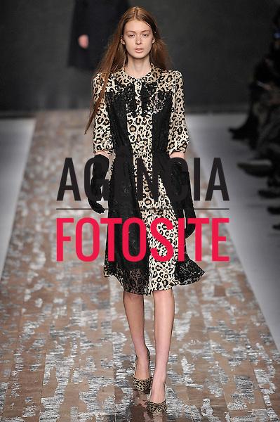 Mil&atilde;o, It&aacute;lia &ndash; 21/02/2013 - Desfile de Blugirl durante o Milano Fashion Week  -  Inverno 2013. <br /> Foto: Firstview/FOTOSITE