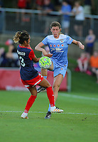 Boyds, MD - Saturday July 09, 2016: Arin Gilliland, Caprice Dydasco during a regular season National Women's Soccer League (NWSL) match between the Washington Spirit and the Chicago Red Stars at Maureen Hendricks Field, Maryland SoccerPlex.