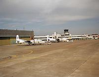Juli 1998. Luchthaven Deurne.