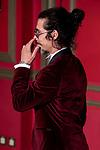 Actor Oscar Jaenada attends the 2018 GQ Men of the Year awards at the Palace Hotel in Madrid, Spain. November 22, 2018. (ALTERPHOTOS/Borja B.Hojas)