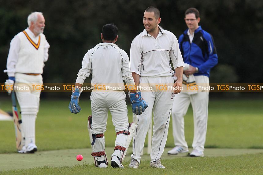 Bengal Tigers CC (batting) vs Rose & Crown CC - Victoria Park Community Cricket League at Victoria Park, London - 16/05/12 - MANDATORY CREDIT: Gavin Ellis/TGSPHOTO - Self billing applies where appropriate - 0845 094 6026 - contact@tgsphoto.co.uk - NO UNPAID USE.