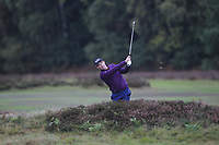 Padraig Harrington (IRL) on the 2nd fairway during Round 4 of the Sky Sports British Masters at Walton Heath Golf Club in Tadworth, Surrey, England on Sunday 14th Oct 2018.<br /> Picture:  Thos Caffrey | Golffile