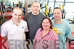 "Lil O'Doherty, Kilcummin, Colm Joy, Killorglin, Derek Hegarty, Killarney and Jim Kissane, Aghadoe who are taking part in the  12 week ""Biggest Loser"" competition in the Killarney Sports and Leisure Centre....................."