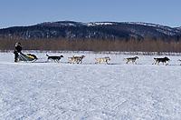 Jeff King on Yukon River Near Grayling