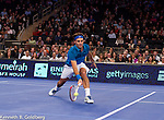 BNP Showdown Madison Square Garden Roddick and Federer  Maria Sharapova Caroline Wozniacki