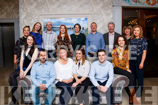 Attending the Rose Hotel Media seminar at the Rose Hotel, Tralee on Saturday night last