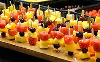 Nederland Amsterdam 2020.  De Horecava. Fruit snacks.   Foto Berlinda van Dam / Hollandse Hoogte