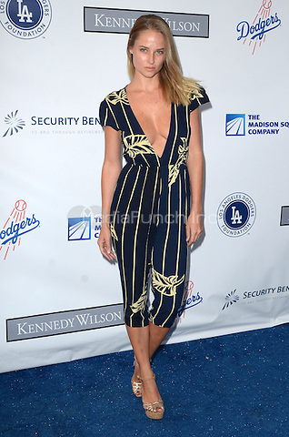 LOS ANGELES, CA - JULY 28: Genevieve Morton at the Los Angeles Dodgers Foundation Blue Diamond Gala at Dodger Stadium, in Los Angeles, California, on July 28, 2016. Credit: David Edwards/MediaPunch