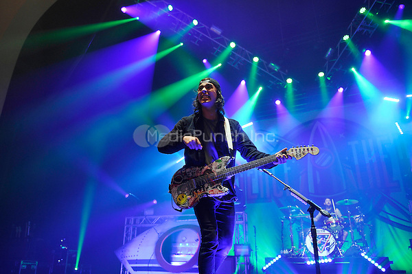 LONDON, ENGLAND - NOVEMBER 27: Vic Fuentes of 'Pierce The Veil' performing at Brixton Academy on November 27, 2016 in London, England.<br /> CAP/MAR<br /> &copy;MAR/Capital Pictures /MediaPunch ***NORTH AND SOUTH AMERICAS ONLY***