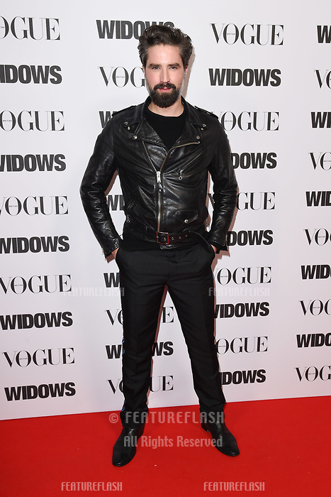LONDON, UK. October 31, 2018: Jack Guinness at the &quot;Widows&quot; special screening in association with Vogue at the Tate Modern, London.<br /> Picture: Steve Vas/Featureflash