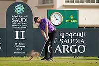 Sebastian Heisele (GER) on the 11th during Round 1 of the Saudi International at the Royal Greens Golf and Country Club, King Abdullah Economic City, Saudi Arabia. 30/01/2020<br /> Picture: Golffile | Thos Caffrey<br /> <br /> <br /> All photo usage must carry mandatory copyright credit (© Golffile | Thos Caffrey)