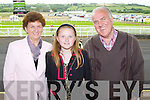 Sheila O'Sullivan, Rachel Costello and Denis O'Sullivan, Tralee pictured at Listowel races on Sunday.