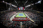 Tenis, Davis Cup 2010.Serbia Vs. Czech Republic, semifinals.Nenad Zimonjic and Novak Djokovic Vs. Radek Stepanek and Tomas Berdych.General view.Beograd, 18.09.2010..foto: Srdjan Stevanovic/Starsportphoto ©