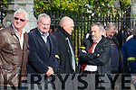 John Evans, Former Roscommon Player and Sean Kelly MEP at the Funeral of Christy Kissane in St James Church Killorglin on Friday