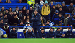 An unhappy Chelsea Manager Frank Lampard during the Premier League match at Stamford Bridge, London. Picture date: 30th November 2019. Picture credit should read: Robin Parker/Sportimage