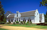 South Africa, near Cape Town, Winelands Franschhoek: Boschendal Manor House