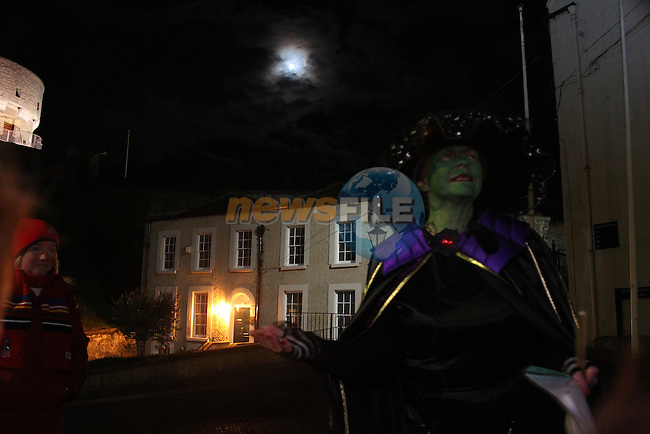 .at the walking ghost tours in Millmount..Picture: Fran Caffrey/www.newsfile.ie.