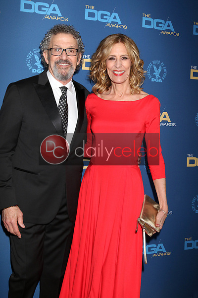 Thomas Schlamme, Christine Lahti<br /> at the 71st Annual Directors Guild Of America Awards, Ray Dolby Ballroom, Hollywood, CA 02-02-19<br /> David Edwards/DailyCeleb.com 818-249-4998