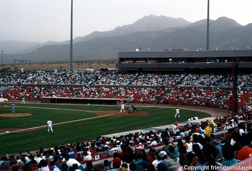 Ballparks: El Paso Cohen Stadium, 1990. Seats 9600. Admission this evening, 7600.