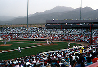 Ballparks: El Paso Cohen Stadium, 1990. Seats 9600. Admission this evening, 7600.