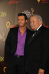 Eric Martsolf & John Aniston at the 38th Annual Daytime Entertainment Emmy Awards 2011 held on June 19, 2011 at the Las Vegas Hilton, Las Vegas, Nevada. (Photo by Sue Coflin/Max Photos)