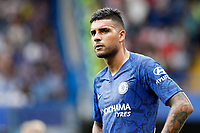 Emerson Palmieri of Chelsea during the Premier League match between Chelsea and Sheff United at Stamford Bridge, London, England on 31 August 2019. Photo by Carlton Myrie / PRiME Media Images.