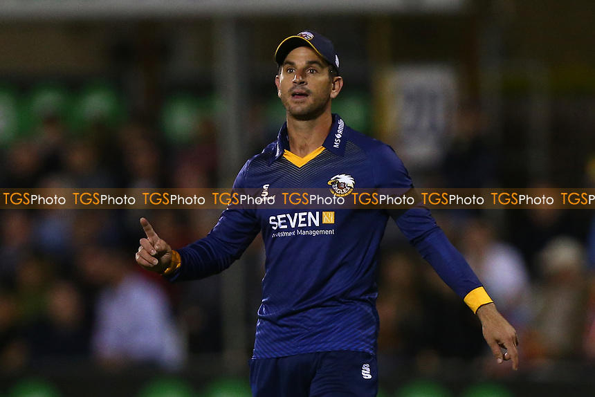 Ryan ten Doeschate of Essex during Essex Eagles vs Middlesex, NatWest T20 Blast Cricket at The Cloudfm County Ground on 11th August 2017