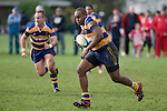 P. Saukuru heads north on a strong run. Counties Manukau Rugby Union Premier round 7  game between Patumahoe & Karaka played at Patumahoe on May 26th 2007. Karaka led 5 - 3 at halftime and went on to win 12 - 3.
