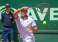 The Hague, Netherlands, 17 July, 2017, Tennis,  The Hague Open, Roy de Valk (NED)<br /> Photo: Henk Koster/tennisimages.com
