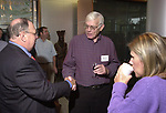 Jim Klurfeld, Kenneth Crowe And Stacy Altherr at the Celebration of the 35th Anniversary of Newsday Investigations Team held in Newsday Auditorium in Melville on Thursday September 26, 2002. (Newsday photo by Jim Peppler).