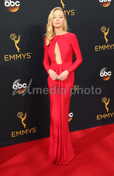 18 September 2016 - Los Angeles, California - Portia Doubleday. 68th Annual Primetime Emmy Awards held at Microsoft Theater. Photo Credit: AdMedia