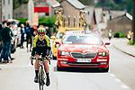 Annemiek van Vleuten (NED) Mitchelton-Scott Women out front solo during the 2019 Liège-Bastogne-Liège Femmes, running 138.5km from Bastogne to Liege, Belgium. 28th April 2019<br /> Picture: ASO/Thomas Maheux | Cyclefile<br /> All photos usage must carry mandatory copyright credit (© Cyclefile | ASO/Thomas Maheux)