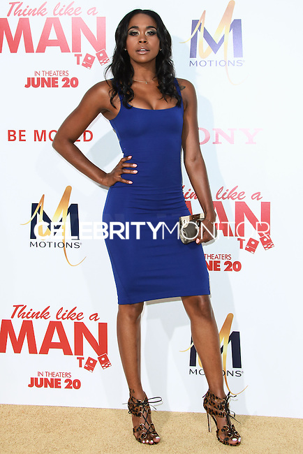 HOLLYWOOD, LOS ANGELES, CA, USA - JUNE 09: Racquel Lee at the Los Angeles Premiere Of Screen Gems' 'Think Like A Man Too' held at the TCL Chinese Theatre on June 9, 2014 in Hollywood, Los Angeles, California, United States. (Photo by David Acosta/Celebrity Monitor)