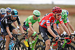 The peloton including race leader Chris Froome (GBR) Team Sky in action during Stage 17 of the 2017 La Vuelta, running 180.5km from Villadiego to Los Machucos. Monumento Vaca Pasiega, Spain. 6th September 2017.<br /> Picture: Unipublic/&copy;photogomezsport   Cyclefile<br /> <br /> <br /> All photos usage must carry mandatory copyright credit (&copy; Cyclefile   Unipublic/&copy;photogomezsport)