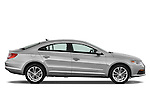 Passenger side profile view of a 2009 volkswagen cc luxary.