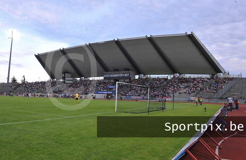 Football Club Feminin Juvisy Essonne - Olympique Lyon :.Stade Robert Bobin Juvisy.foto DAVID CATRY / JOKE VUYLSTEKE / Vrouwenteam.be