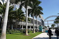 Eingang zum Hard Rock Stadium - 22.01.2020: SB LIV im Hard Rock Stadium Miami