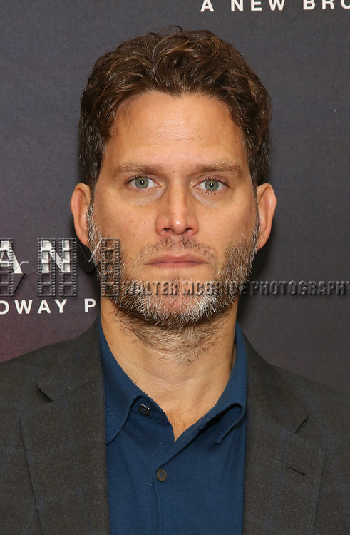 """Steven Pasquale attends the Cast photo call for the New Broadway Play """"American Son"""" on September 14, 2018 at the New 42nd Street Studios in New York City."""