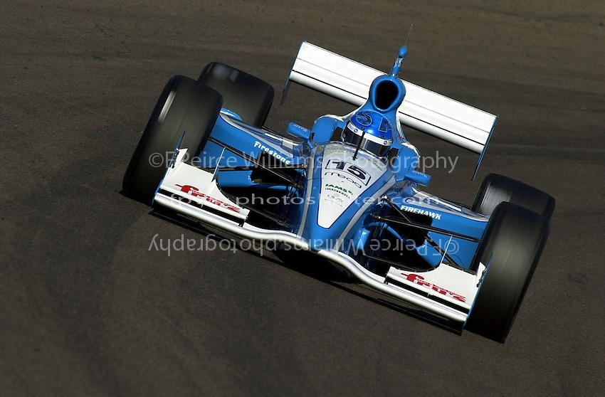 Sarah Fisher..Indy Racing Northern Lights Series (IRNLS) Pennzoil Cooper World 200  18 March,2001 Phoenix,AZ,USA.Copyright©F.Peirce Williams 2001 ..