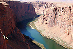 Horseshoe Bend is a horseshoe-shaped meander of the Colorado River located near the town of Page, Arizona, in the United States. Horseshoe Bend is located 5 miles downstream from the Glen Canyon Dam and Lake Powell within Glen Canyon National Recreation Area, about 4 miles southwest of Page.