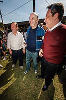 SAO PAULO, SP, 14 JULHO 2012 - ELEICOES 2012 - JOSE SERRA - O candidato a prefeitura de Sao Paulo Jose Serra, cumpre agenda eleitoral durante visita a Ciclovia da Radial Leste, em Itaquera, neste sábado, 14. (FOTO: VANESSA CARVALHO / BRAZIL PHOTO PRESS).