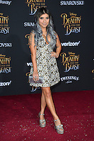 Kirstin Maldonado at the premiere for Disney's &quot;Beauty and the Beast&quot; at El Capitan Theatre, Hollywood. Los Angeles, USA 02 March  2017<br /> Picture: Paul Smith/Featureflash/SilverHub 0208 004 5359 sales@silverhubmedia.com