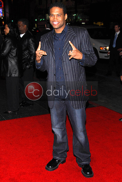 """Texas Battle<br />at the premiere of """"Final Destination 3"""". Grauman's Chinese Theatre, Hollywood, CA 02-01-06<br />Dave Edwards/DailyCeleb.com 818-249-4998"""