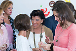 Education Minister Isabel Celaa during the opening of School Year in Torrejoncillo (Caceres). September 17, 2019. (ALTERPHOTOS/Francis Gonzalez)