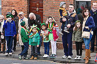George Street<br /> St Patricks Day Parade route from George Street through Fair Street Peter Street Shop Street and ending some where down along the North Quay