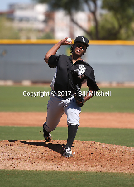 Anthony Herron Jr - 2017 AIL White Sox (Bill Mitchell)