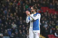 Blackburn Rovers' Danny Graham<br /> <br /> Photographer Rachel Holborn/CameraSport<br /> <br /> The EFL Sky Bet League One - Blackburn Rovers v Shrewsbury Town - Saturday 13th January 2018 - Ewood Park - Blackburn<br /> <br /> World Copyright &copy; 2018 CameraSport. All rights reserved. 43 Linden Ave. Countesthorpe. Leicester. England. LE8 5PG - Tel: +44 (0) 116 277 4147 - admin@camerasport.com - www.camerasport.com