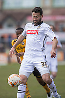 Mike Edwards of Notts County during the Sky Bet League 2 match between Newport County and Notts County at Rodney Parade, Newport, Wales on 30 April 2016. Photo by Mark  Hawkins / PRiME Media Images.